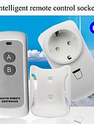 Недорогие -розетка для беспроводного пульта дистанционного управления / розетка для умного дома / ac110-265v светильник для домашнего освещения включение / выключение умный пульт дистанционного управления /