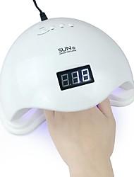 Недорогие -Портативный мини 6 Вт светодиодная лампа сушилка для ногтей USB зарядка 45s 60s таймер светодиодный свет быстро сухой ногти гель маникюр для ногтей