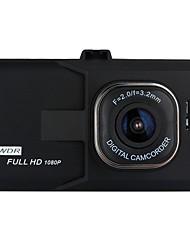 Недорогие -1080p Full HD Автомобильный видеорегистратор 170° Широкий угол 3 дюймовый LCD Капюшон с Ночное видение / G-Sensor / Обноружение движения Автомобильный рекордер