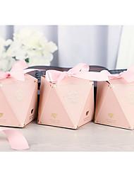Недорогие -Необычные Картон Фавор держатель с Ленты Подарочные коробки / Пакеты для печенья - 50 шт