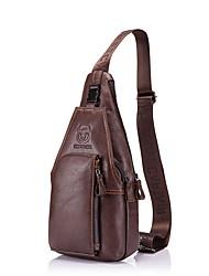 Недорогие -(bullcaptain) мужская кожаная сумка через плечо повседневная мода многофункциональная спортивная сумка на спине