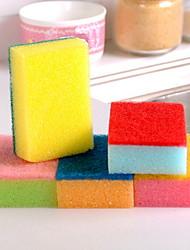 Недорогие -Кухня Чистящие средства губка Тряпка / щетка Новый дизайн 1 комплект