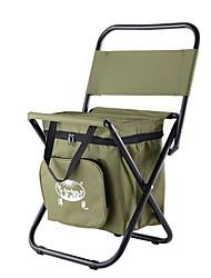 Недорогие -Складное туристическое кресло Встроенный кулер с боковым карманом Компактность Противозаносный Складной Удобный Стальная труба Оксфорд для 1 человек