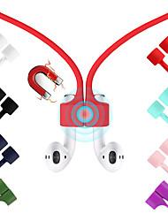 Недорогие -магнитный ремешок для наушников для airpods tws анти-потерянный ремешок магнитный шнур веревка для наушников bluetooth силиконовый кабель шнур