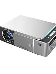 Недорогие -t6 full hd светодиодный проектор 4k 3500 люмен hdmi usb 1080p портативный кинотеатр proyector проектор с таинственным подарком