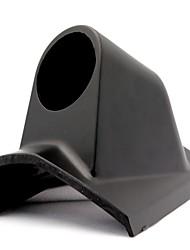 Недорогие -правая сторона 52 мм автомобильная стойка 1 отверстие однорежимный держатель метра - черный