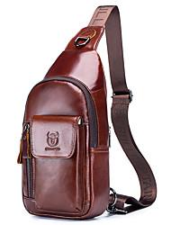 Недорогие -(bullcaptain) 2019 новая мужская кожаная сумка на плечо для мобильного телефона