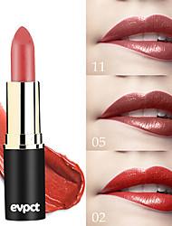 Недорогие -марка evpct 12 цвет новый сексуальный длительный матовый водонепроницаемый помада помада