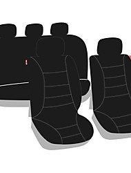Недорогие -Автомобильные чехлы M6 с турбонаддувом и поясной подушкой из 9 частей, черный поликарбонат, универсальный для всех лет
