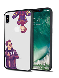 Недорогие -чехол для iphone x xs max xr xs задняя крышка мягкий чехол тпу два человека тпу для iphone5 5s se 6 6p 6s sp 7 7p 8 8p