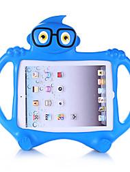Недорогие -Кейс для Назначение Apple iPad 4/3/2 Безопасно для детей Кейс на заднюю панель Однотонный / 3D в мультяшном стиле Этиленвинилацетат