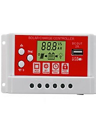 Недорогие -30a 12v / 24v панель солнечных батарей регулятор зарядки аккумулятора контроллер 3-х ступенчатый pwm lcd