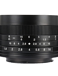 Недорогие -7Artisans Объективы для камер 7Artisans 50mmF1.8EOSM-BforФотоаппарат