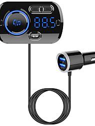 Недорогие -YuanYuanBenBen Bluetooth 5.0 Комплект громкой связи Автомобильная гарнитура Bluetooth / QC 3.0 / MP3 Автомобиль