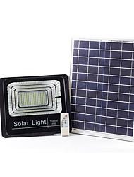 Недорогие -1шт 100 W LED прожекторы / Внешние настенные светильники / Солнечный свет стены Водонепроницаемый / Дистанционно управляемый / Работает от солнечной энергии Белый 3.2 V