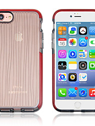 cheap -D&S Case For Apple iPhone 8 Plus / iPhone XS Max Shockproof Back Cover Lines / Waves Soft TPU for iPhone XS / iPhone XR / iPhone XS Max