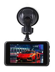 Недорогие -Ziqiao R801 HD мини-камера 3 экрана Full HD 1080 P 170 градусов широкоугольный автомобильный видеорегистратор замедление автомобиля Cam G-сенсор ночного видения беспроводной Wi-Fi рекордер вождения