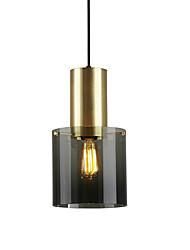 Недорогие -нордический стиль гальванический мини стеклянный подвесной светильник гостиная спальня столовая прихожая кафе подвесной светильник