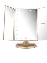 Недорогие -Косметические зеркала Складной / Для профессионалов / Легко для того чтобы снести Составить 1 pcs ABS Квадрат Уход за ребенком / Общего назначения Современный / Мода Выступление / Свидание / Праздники
