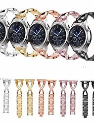 Недорогие -Ремешок для часов для Huawei Watch GT / Watch 2 Pro Huawei Дизайн украшения Нержавеющая сталь Повязка на запястье