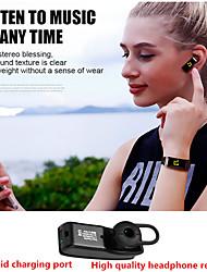 Недорогие -y3 plus умный браслет бизнес bluetooth call гарнитура браслет фитнес сердечный ритм для ios android мобильный телефон группа