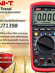 Недорогие -uni-t ut139b true rms цифровой мультиметр / переменная частота переменного тока измерение частоты / тест частоты / ncv / автоматическое отключение