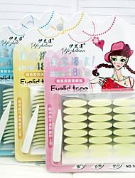 Недорогие -Веко Легко для того чтобы снести / Дышащий / Ультралегкий (UL) Составить 1 pcs Ластик Глаза / Повседневные Повседневный макияж Натуральный Воздухопроницаемость На каждый день косметический