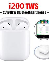 Недорогие -Оригинальный i200 tws правда всплывающее касание функция беспроводной зарядки наушников Bluetooth 5.0 6d бас наушники