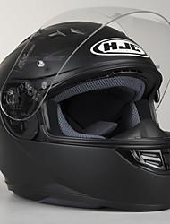 billige -hjc cs-15 fuld ansigt teenager / voksne unisex / mænds motorcykelhjelm anti-uv / åndbar / semi-aftagelig interiør