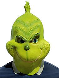 Недорогие -Монстры / Куки-аниме Товары для Хэллоуина / Маскарадная маска Для подростков Косплей / Хэллоуин Муж. Зеленый силикагель Halloween Карнавал Косплэй аксессуары Хэллоуин / Карнавал / Маскарад костюмы