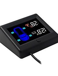 Недорогие -Система контроля давления в шинах автомобиля OBD TPMS 3-дюймовый датчик ЖК-дисплей