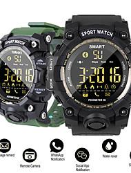 Недорогие -dm02 умные часы спорт пассометр напоминание сообщения ip68 водонепроницаемый bluetooth мужчины / женщины smartwatch для ios и android
