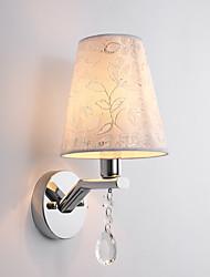Недорогие -Новый дизайн / Милый Современный современный Спальня / В помещении Металл настенный светильник 110-120Вольт / 220-240Вольт 60 W