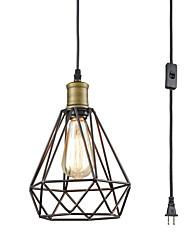 Недорогие -подвесные светильники встраиваемый регулируемый провод в клетке подвесной светильник масло втирают бронзовый подвесной светильник художественный подвесной светильник регулируемый по высоте
