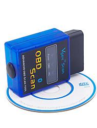 Недорогие -мини elm327 v1.5 bluetooth elm 327 obdii obd2 протоколы авто диагностический инструмент сканер интерфейсный адаптер