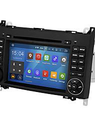 Недорогие -wsd2025 7-дюймовый андроид 8.0 четырехъядерный процессор 2 din автомобильный DVD-плеер с сенсорным экраном для Mercedes-Benz B200