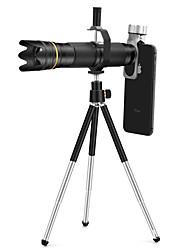 Недорогие -прямой телефонный объектив с 18-36-кратным телескопическим зумом для мобильного телефона с универсальным зажимом для смартфона