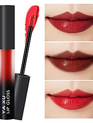 Недорогие -6-цветная матовая глазурь для губ увлажняющая водонепроницаемая, не выцветающая, антипригарная чашка, блеск для губ, стойкий макияж губ