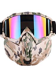 Недорогие -уникальные очки для мотокросса очки маска для лица с отстёгивающейся рамой фильтра для мотоцикла цвет чёрное золото