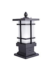 Недорогие -водонепроницаемая колонка лампы современные современные наружные стеклянные столбы светильники наружный металлический настенный светильник ip65