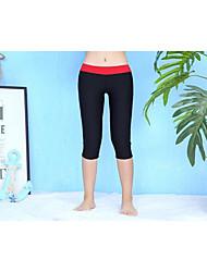Недорогие -Жен. Классический Красный Пляжные шорты Трусики, шорты и т.д. Купальники - Однотонный M L XL Красный