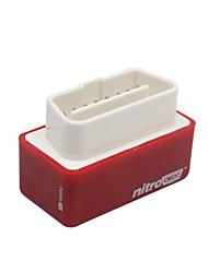 Недорогие -Ncelec Plug and Drive NITRO OBD2 Чип-тюнинг коробка производительность ECU перенаправить мощность для автомобиля бензин бензин 2шт (красный)