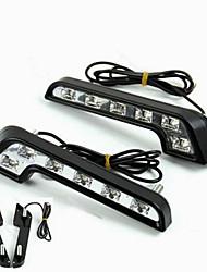 Недорогие -белый лампа для чтения светодиодные t10 автомобиль светодиодные парковочные лампы 24smd авто интерьер панели освещения