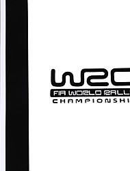 Недорогие -WRC полосы автомобиля охватывает виниловые гонки спортивный наклейка на голову стикер автомобиля для Ford Focus VW
