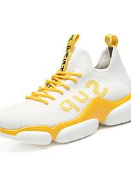 Недорогие -Муж. Комфортная обувь Tissage Volant Лето Спортивная обувь Беговая обувь Черный / Желтый / Белый / Желтый