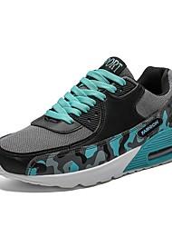 hesapli -Erkek Ayakkabı Örümcek Ağı Yaz Atletik Ayakkabılar Koşu Dış mekan için Siyah / Yeşil / Gri