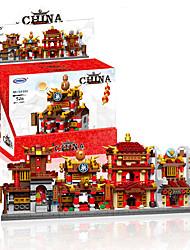 Недорогие -Конструкторы 1 pcs Китайская архитектура совместимый Legoing моделирование Все Игрушки Подарок