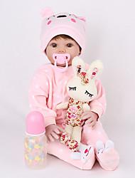 Недорогие -NPK DOLL Куклы реборн Куклы Девочки 22 дюймовый Безопасность Подарок Образование Детские Универсальные Игрушки Подарок