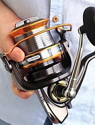 Недорогие -Спиннинговые катушки 4:7:1 Передаточное число+11 Шариковые подшипники Рука Ориентация Заменяемый Морское рыболовство - AFL9000