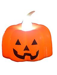 Недорогие -Brelong хэллоуин бар партия украшения светодиодные тыквы свечи ночной свет тыквы голову 1 шт.